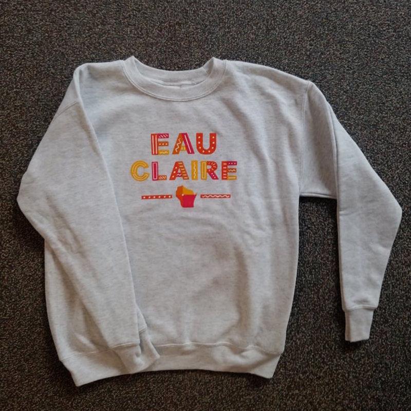 Volume One Youth Crewneck - Eau Claire Fun