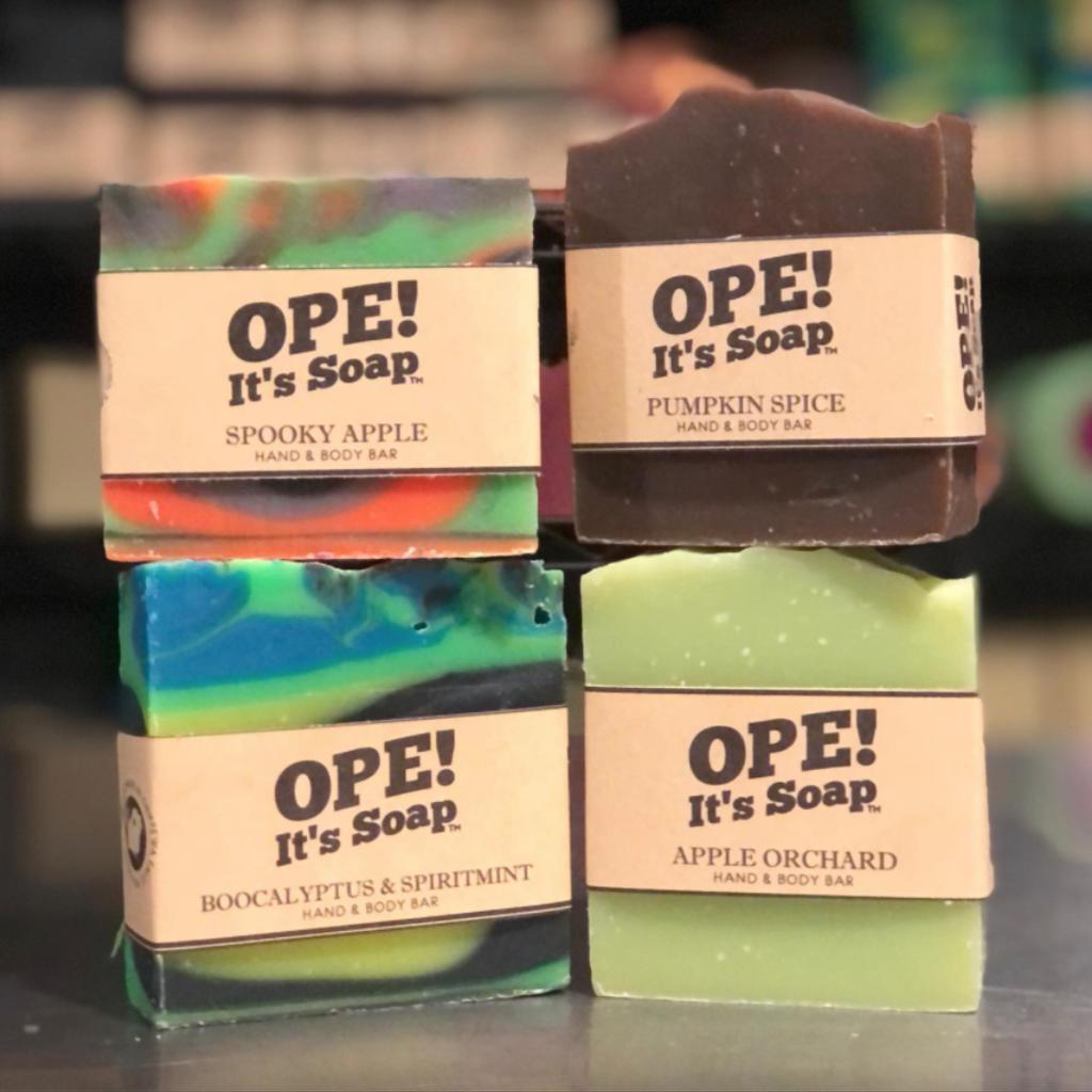 Ope! Soap - Spooky Apple
