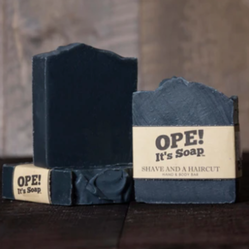 Ope! Soap - Shave and a Haircut