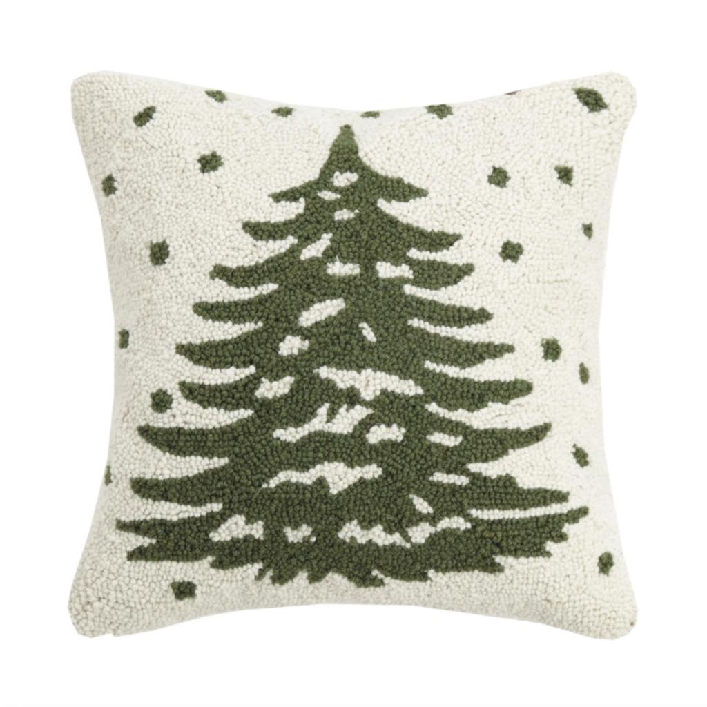 Volume One Christmas Tree Hook Pillow