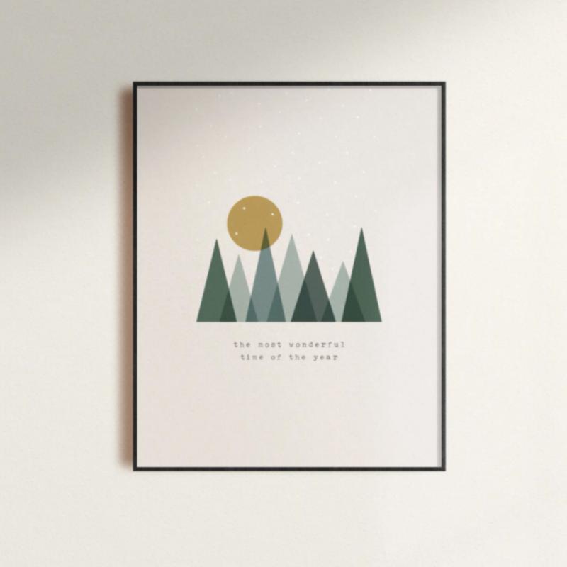 Most Wonderful Time Print 8x10