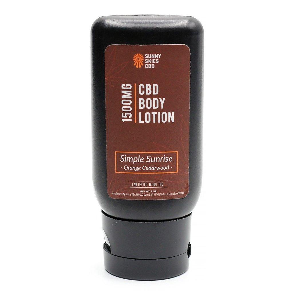 CBD Body Lotion (1500 mg)