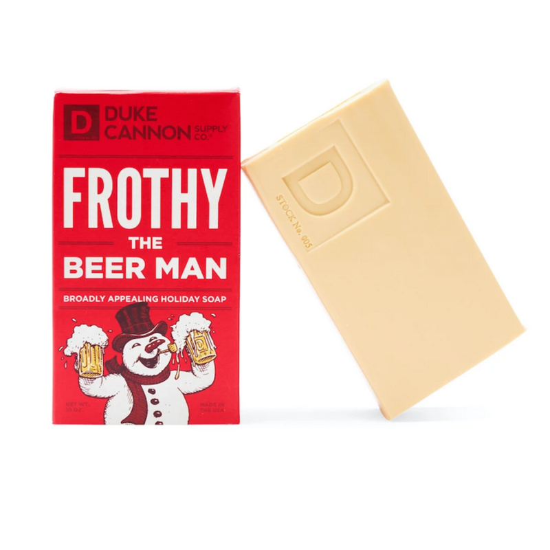 Duke Cannon Supply Co. Frothy the Beer Man Soap