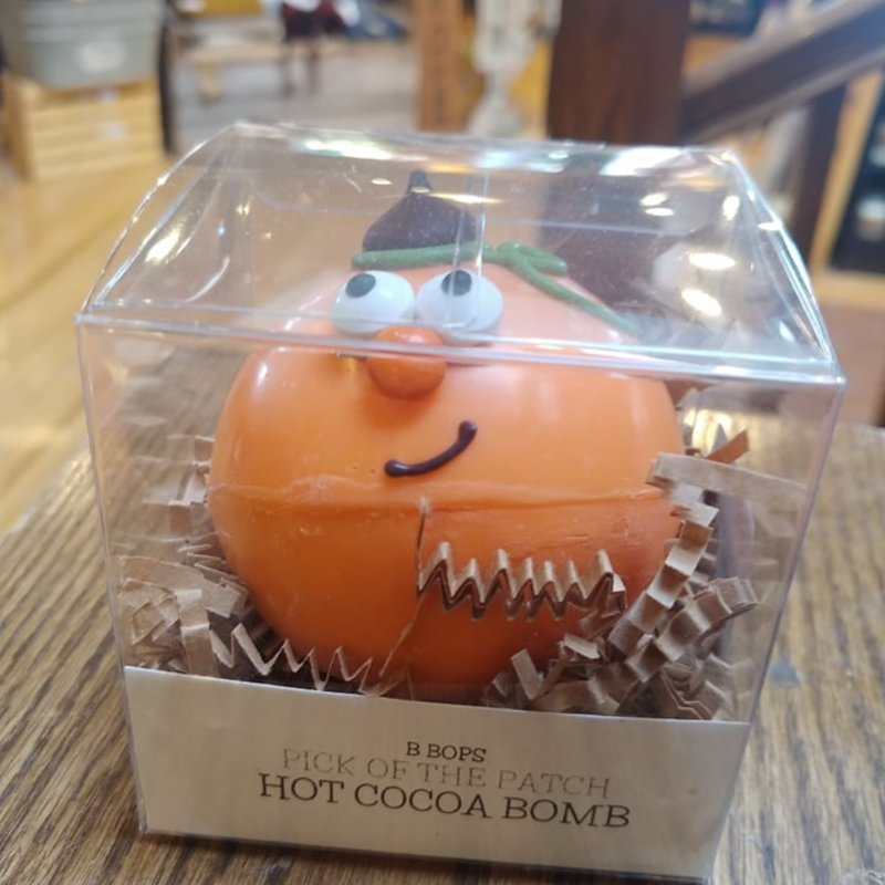 Hot Cocoa Bomb - Pumpkin Head