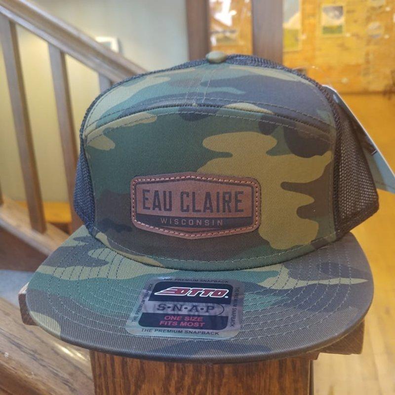 Volume One 7-Panel Camo Hat - Eau Claire, Wisconsin