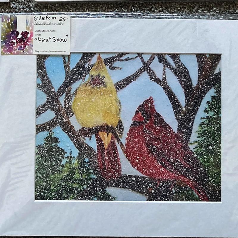First Snow Print (8x10)