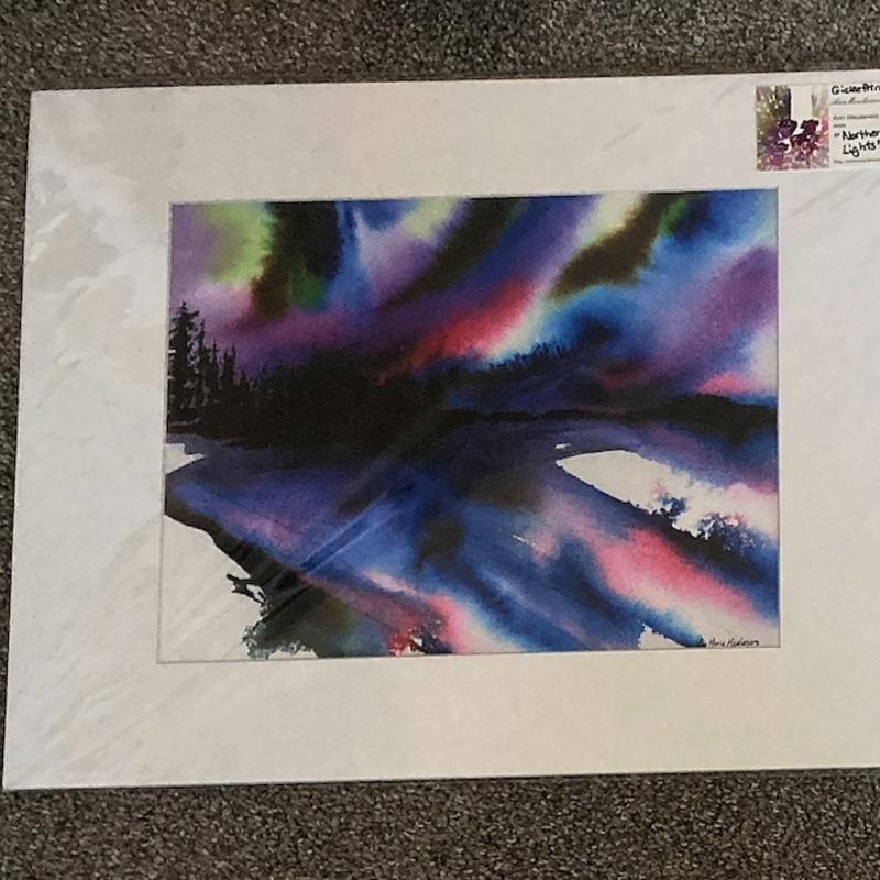 Northern Lights Print