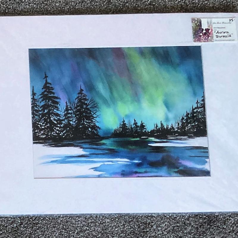 Aurora Borealis Print (11x14)