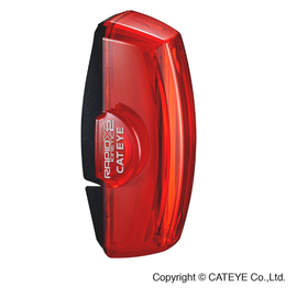 Cateye LIGHT REAR RAPID X2 KINETIC RED/BLACK