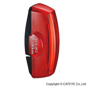 Cateye LIGHT REAR RAPID X2 KINETIC RED/BLACK
