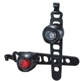 Cateye LIGHTSET ORB RC BLK