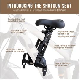 Shotgun KIDS MTB SEAT