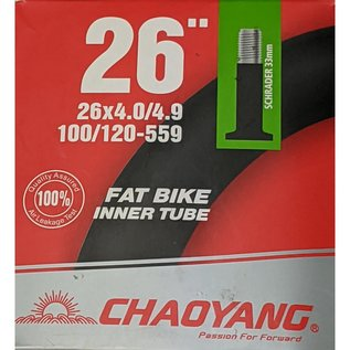 "Chaoyang TUBE 26"" x 4.0/4.9 SCHRADER VALVE"