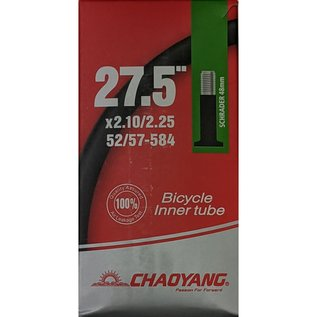 "Chaoyang TUBE 27.5"" X 2.10/2.25 SCHRADER VALVE"