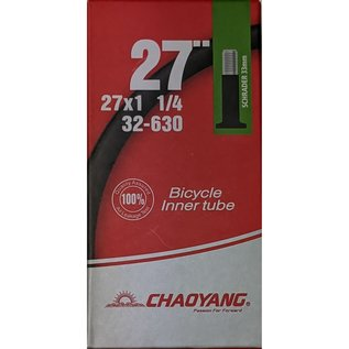 "Chaoyang TUBE 27"" x 1 1/4 SCHRADER VALVE"