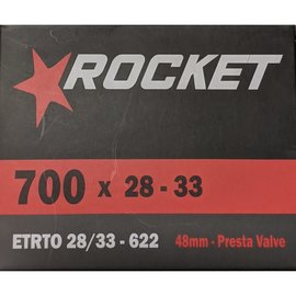 Rocket TUBE 700 x 28/33 48mm PRESTA VALVE