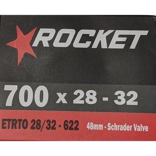 Rocket TUBE 700 x 28/32 48mm SCHRADER VALVE