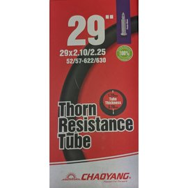 "Chaoyang TUBE 29"" x 2.1/2.25 PRESTA VALVE THORN RESISTANT"