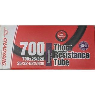 Chaoyang TUBE 700 x 25/32 PRESTA VALVE THORN RESISTANT