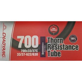 Chaoyang TUBE 700 x 33/37 PRESTA VALVE THORN RESISTANT