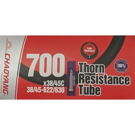 Chaoyang TUBE 700 x 38/45 PRESTA VALVE THORN RESISTANT