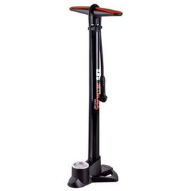 Jet Black FLOOR PUMP XAIR HIGH PRESSURE