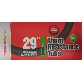 "Chaoyang TUBE 29"" x 2.10/2.25 SCHRADER VALVE 48mm THORN RESISTANT"