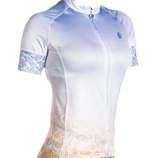 Hincapie CHANTILLY JERSEY WOMEN'S WHITE/PURPLE XL