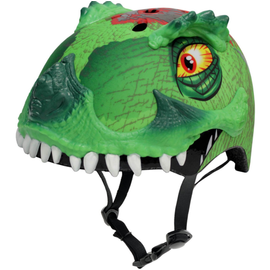 RASKULLZ HELMET T-REX Awesome Green 50-54cm