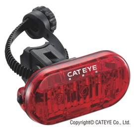Cateye LIGHT REAR 3LED OMNI GLOW LD135