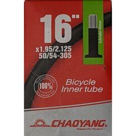"Chaoyang TUBE 16"" X 1.95/2.125 40mm SCHRADER VALVE"
