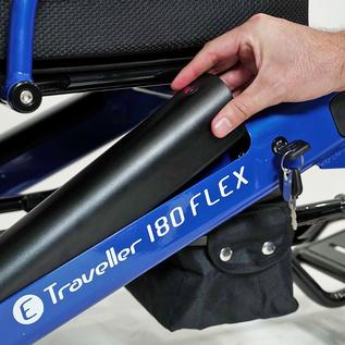 E-TRAVELLER WHEELCHAIR ELECTRIC 180 FLEX