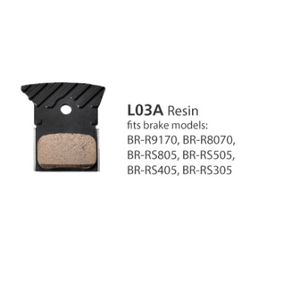 Shimano BRAKE PADS BR-9170 L03A RESIN WITH FINS