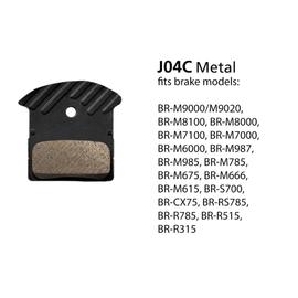 Shimano BRAKE PAD BRM9000 METAL,SPRINGW/FIN