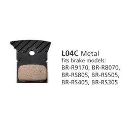 Shimano BRAKE PADS BR-R9170 L04C METAL WITH FINS