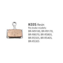 Shimano BRAKE PADS BR-R9170 RESIN K03S