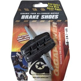 Gigapower BRAKE SHOES CANTILEVER
