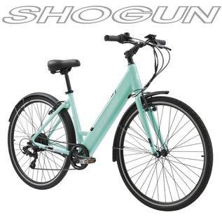 SHOGUN EB1 E-BIKE STEP THRU