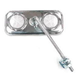 Pro Series MIRROR WHITE REFLECTOR 140MM
