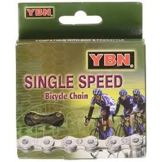 Yaban CHAIN SINGLE SPEED S410 1/2 X 1/8 Silver