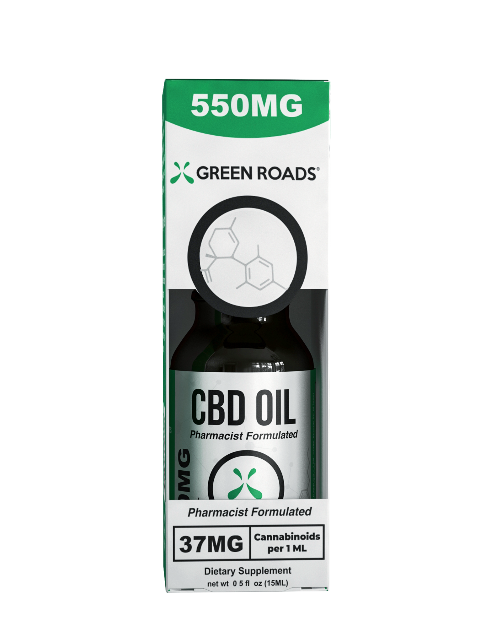 Green Roads Tincture 550mg