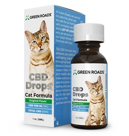 Green Roads CBD Drops for Cats