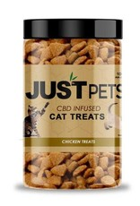 JustCBD Cat Chicken Treats 100mg