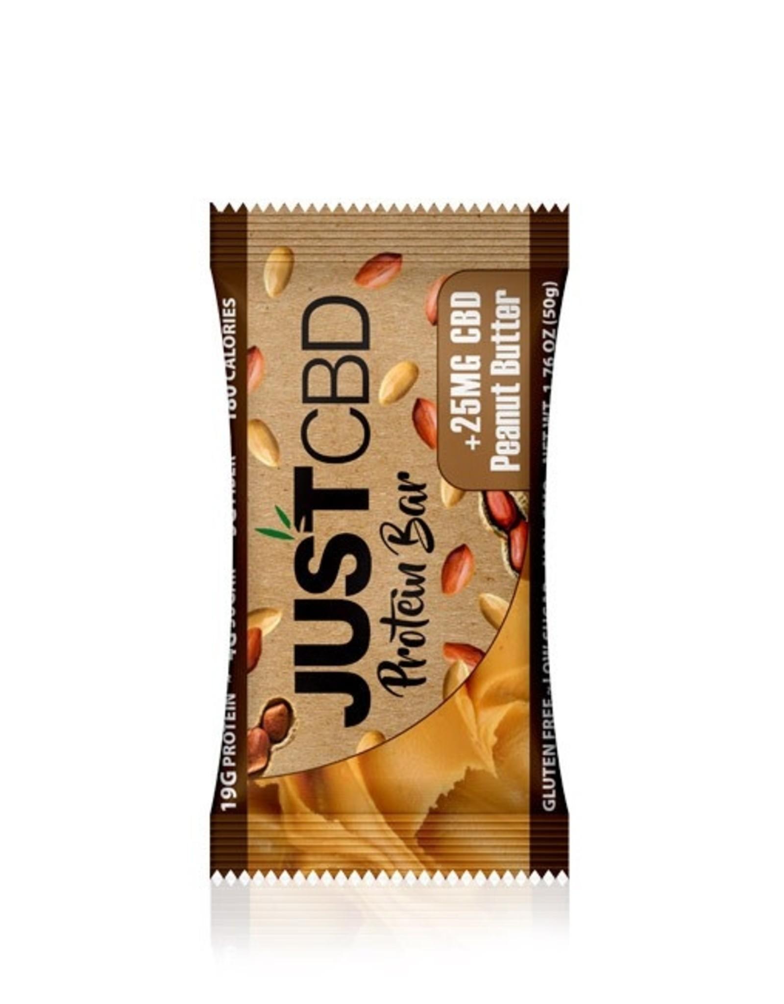 JustCBD Peanut Butter Protein Bar