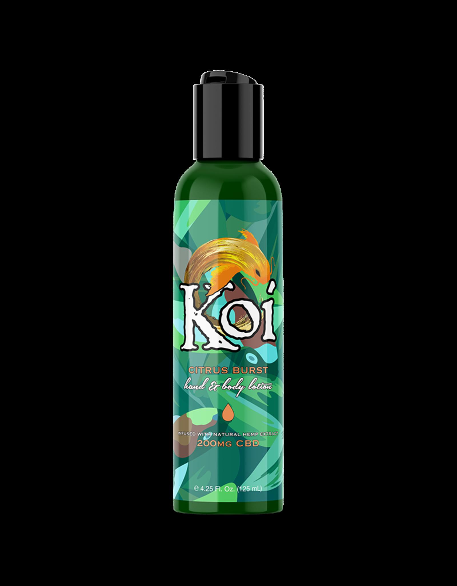 Koi CBD KOI Citrus Hand and Body Lotion 200mg