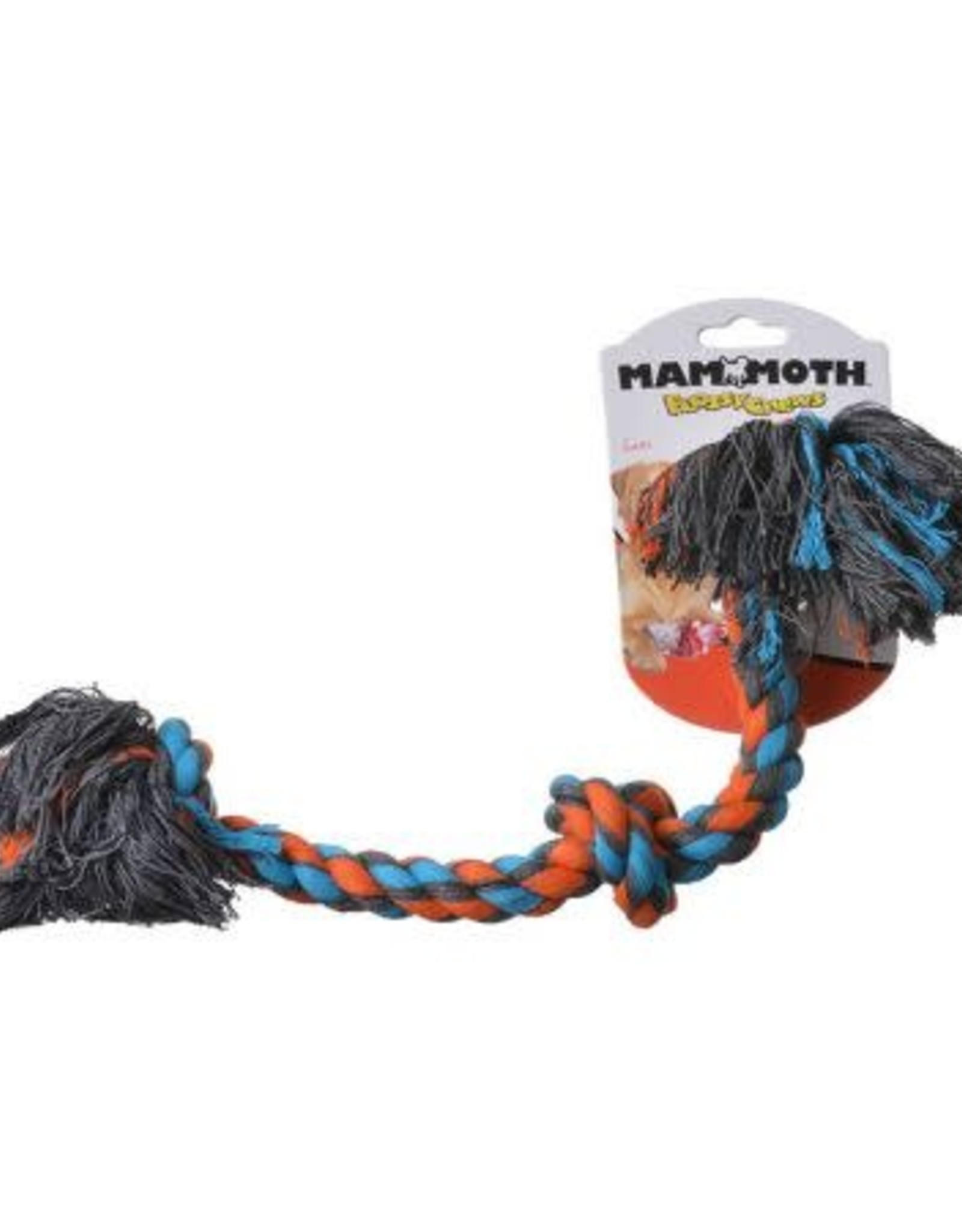 """Mammoth Flossy 3 Knot Rope 20"""""""
