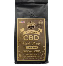 Sun State 8oz Dark Roast Coffee 300mg