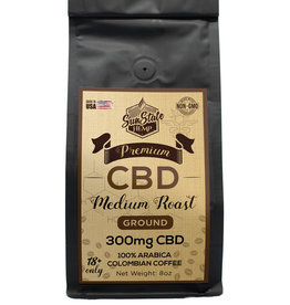 SunState 8oz Medium Roast Coffee 300mg