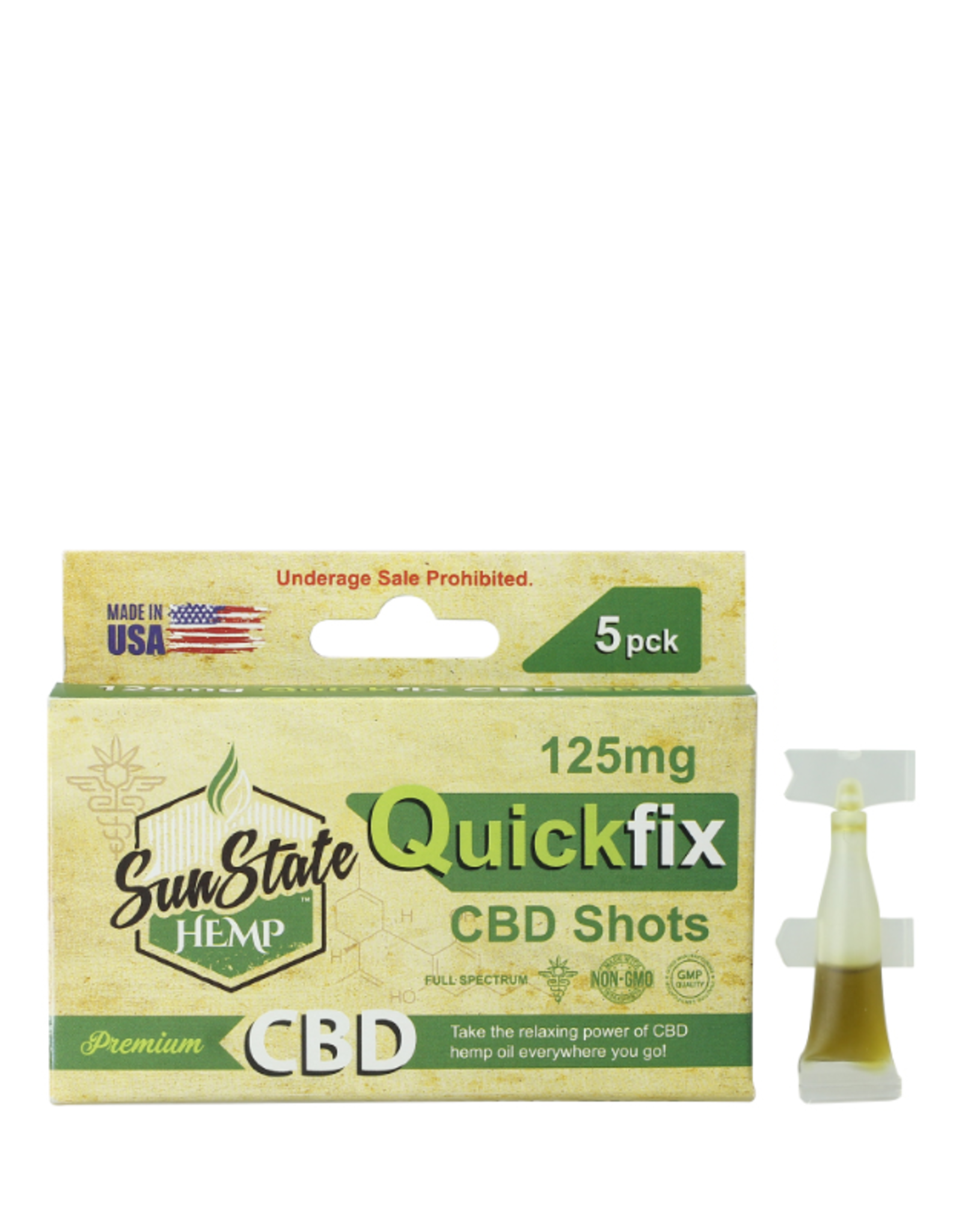 SunState Quickfix Shots 125mg