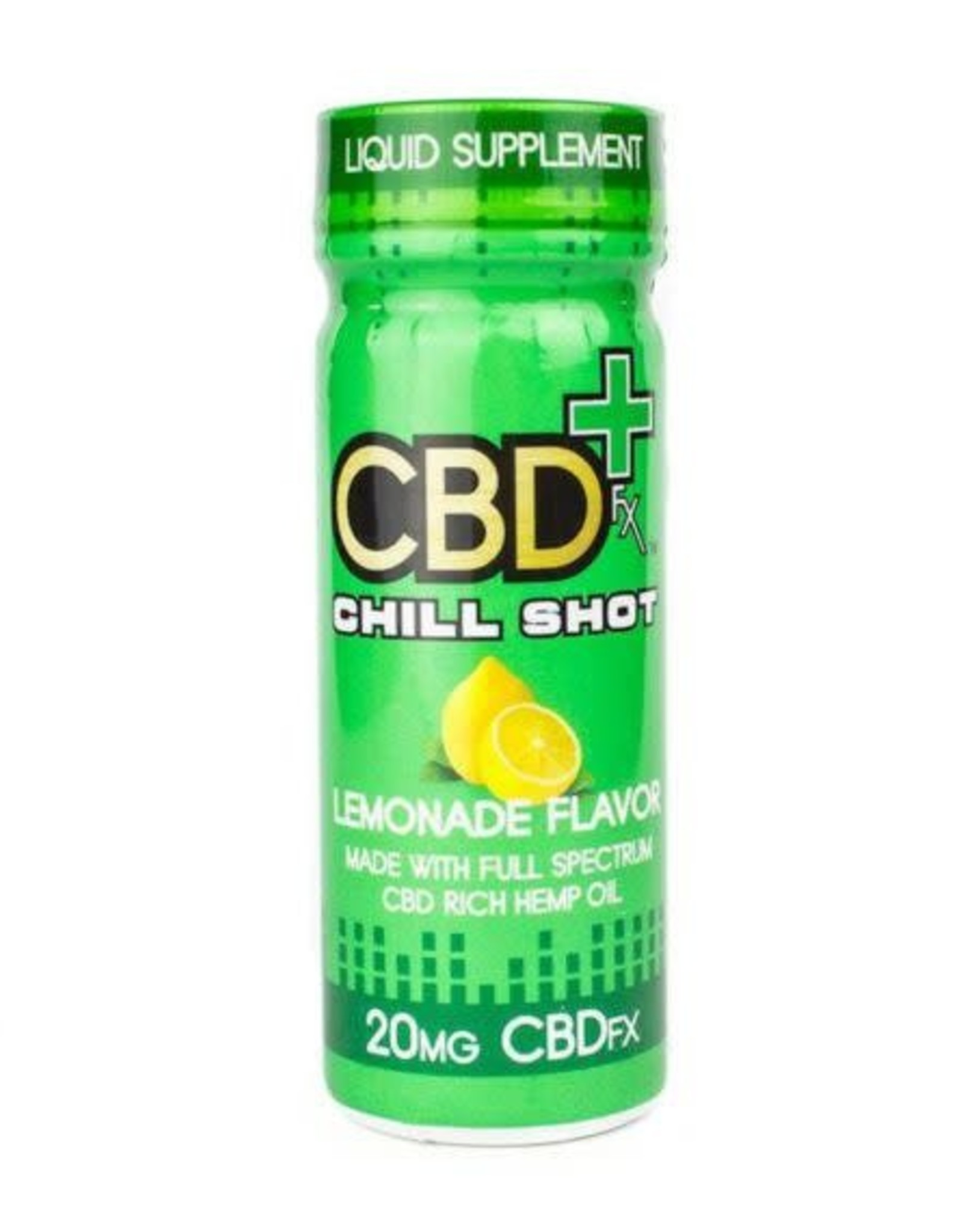 CBD FX Lemonade Chill Shot 2oz